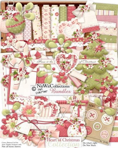fqb heart of christmas collection nitwit kits nitwit