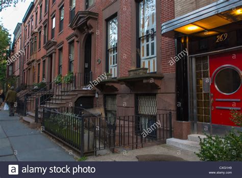 houses in brooklyn heights new york usa stock photo new york city ny usa brooklyn heights street scenes