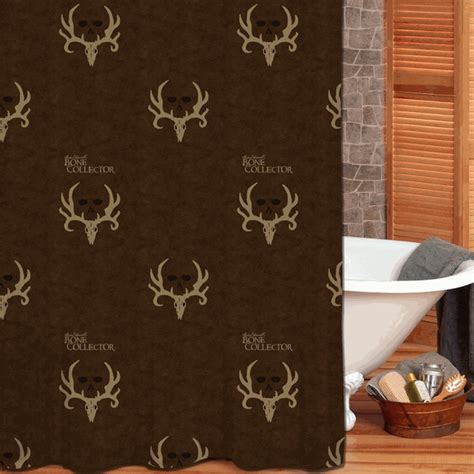 bone collector curtains camo bathroom decor bone collector shower curtain camo