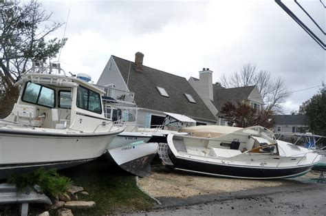 hurricane boat lettering hurricane sandy sends rowayton boats on unexpected trip