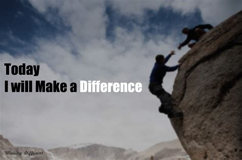 with a difference make a difference with simple efforts