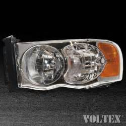 2003 2004 dodge ram 1500 ram 2500 headlight l clear