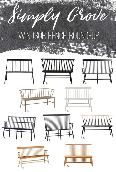 black windsor bench 10 affordable windsor benches round up simply grove