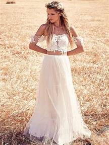 Spell Backyard 25 Whimsical Beautiful Bohemian Wedding Dresses Deer