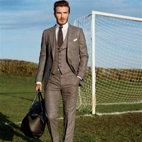 Can David Beckham Make American Athletes More Fashionable by How To Pull A Suit Like David Beckham The Idle