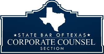 state bar of texas sections corporate counsel section of the state bar of texas home