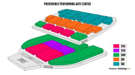 ppac seating chart wallseatco