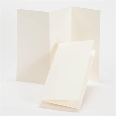 Tri Fold Perforated Paper - impressions ecru tri fold program 4 x 8 folded 100