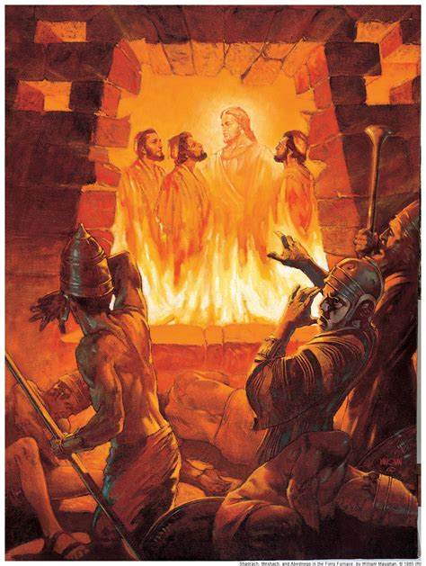 Wednesday Bible Study Group God Delivers His Servants 3 Hebrew Boys In The Fiery Furnace Printable