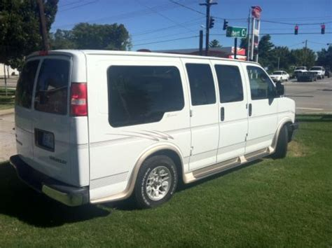 Regency Ls by Buy Used 2005 Chevrolet Express 1500 Ls Regency Protege