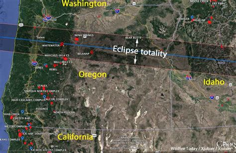 map of oregon 2017 fires firefighters make preparations for the eclipse