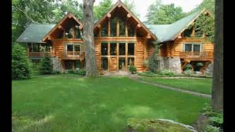 for sale beautiful log cabin located in deer lake ohiopyle pa youtube