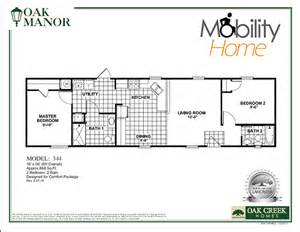 Ada Floor Plans Ada Friendly Manufactured Homes Manufactured Homes For