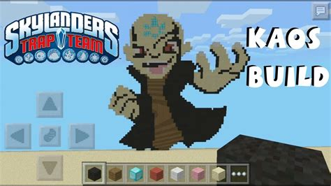 Kaos Macbeth Minecraft Pocket Edition kaos skylanders pixel in minecraft pocket edition
