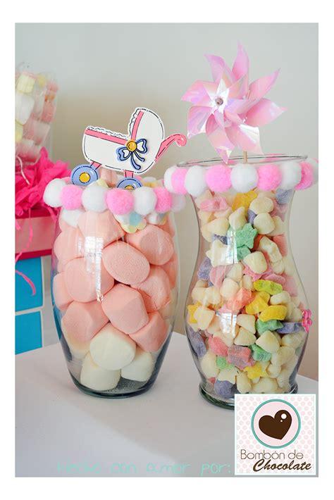 floreros baby shower bomb 243 n de chocolate baby shower mesa de dulces