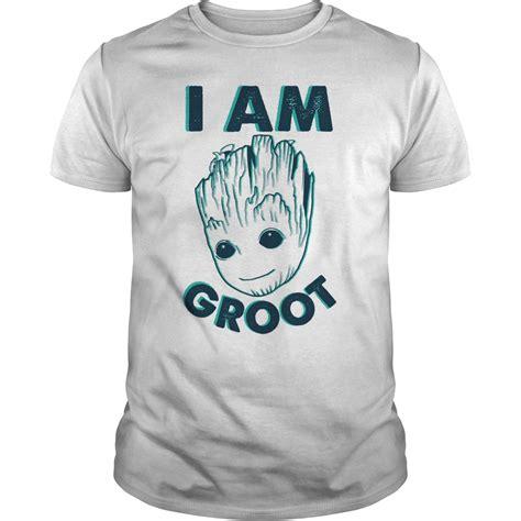 I Am A Tshirt i am groot guardians t shirt