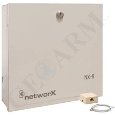 interlogix networx nx 8 phone line voip security system