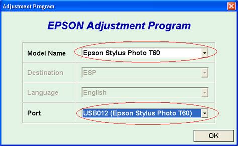 reset epson t50 t60 download adjustment program vip printer service share your knowledge working t50 and t60 adjustment