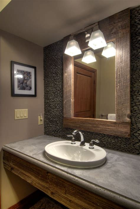Modern Bathroom Earth Tones 5 Tips For Cleaning A Cloudy Mirror