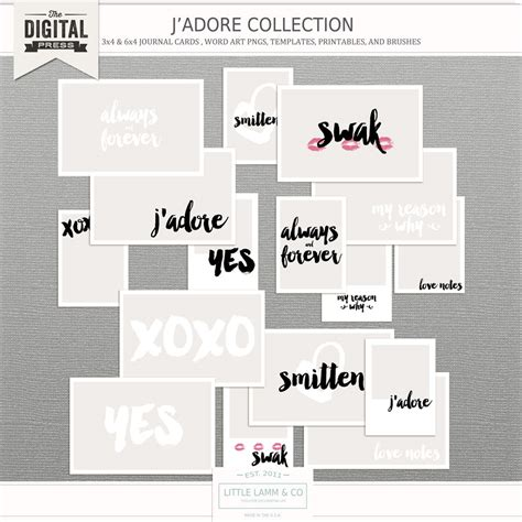 3x4 note card template j adore photo templates