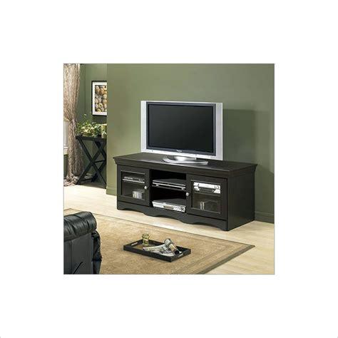 Distressed Black Tv Stand by Tech Craft Veneto 60 Quot Distressed Black Wood Lcd Plasma Tv