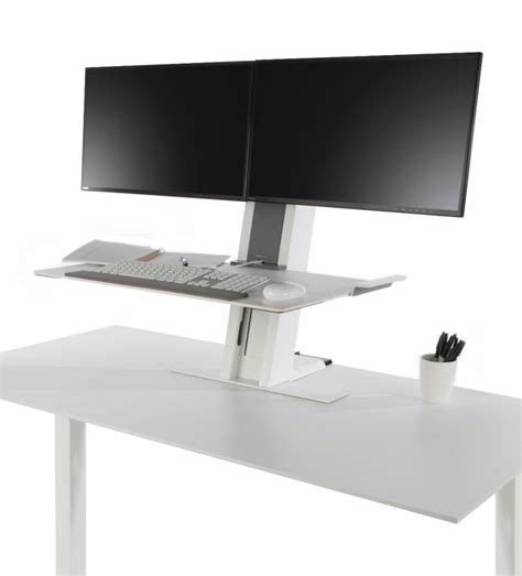 humanscale quickstand heavy dual sit stand workstation