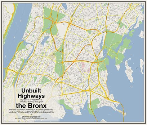 robert moses state park map unbuilt highways of new york city and robert moses