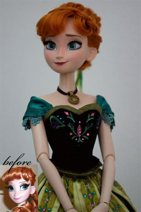 design doll realistic model anna of arendelle ooak doll by lulemee on deviantart