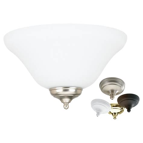 16120b 999 Ceiling Fan Light Kit Multiple Finishes