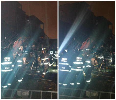 Chicago Apartment Collapse Washington Park Apartment Building Collapses After