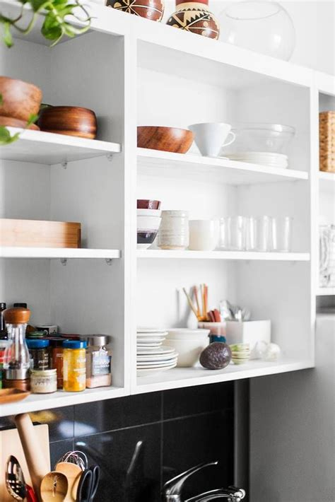 kitchen open shelving the best inspiration tips the easy open shelving in the kitchen the best of home decor
