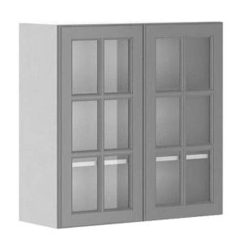 fabritec 30x30x12 5 in buckingham wall cabinet in white