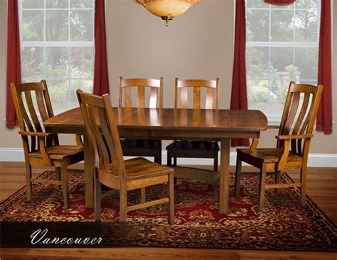 Dining Room Furniture Vancouver Vancouver Dining Room Set Amish Furniture Factory