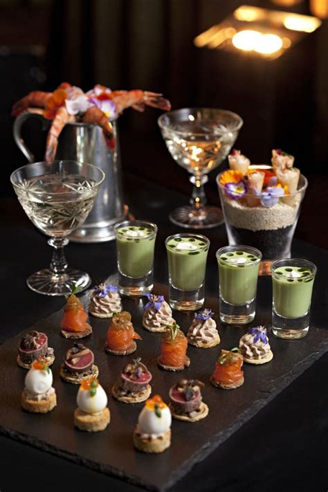great gatsby themed food gatsby canapes and food presentation on pinterest