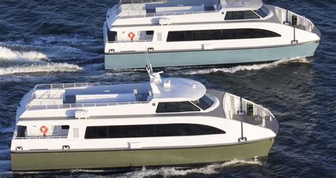 coastal catamaran ferry pensacola ferry construction on schedule service to begin