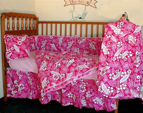 Hawaiian Crib Bedding Hawaiian Flower 14 Baby Bedding Hawaiian Crib Bedding