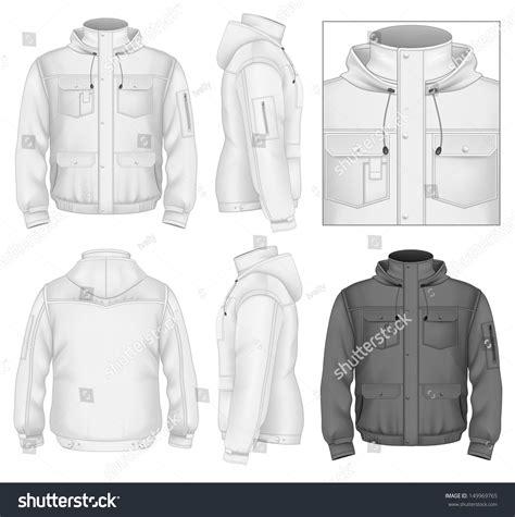jacket design maker online free photo realistic vector illustration men s flight jacket
