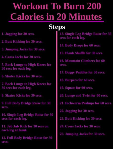 17 of 2017 s best 200 calorie workout ideas on