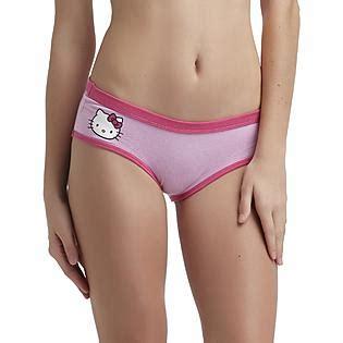 junior girls underwear panties hello kitty junior s hipster panties clothing juniors