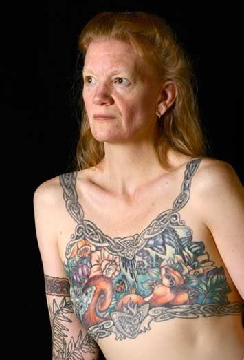 nipple tattoo breast cancer seattle seattle tattoo artist tina bafaro says the number of women