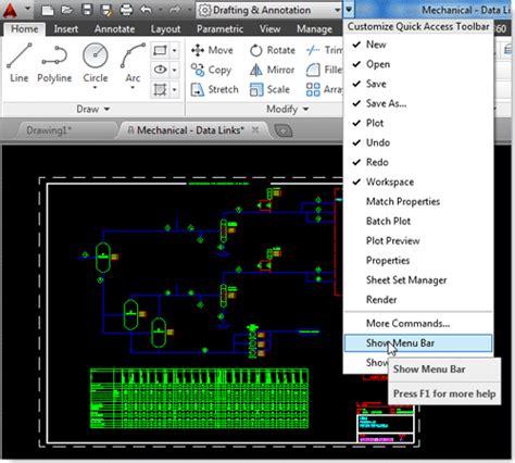 tutorial autocad lengkap cara menilkan menu pada autocad tutorial autocad x