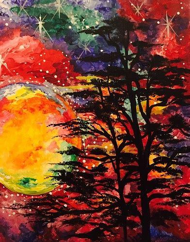 paint nite uk paint nite galaxy sky