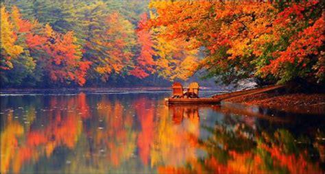 top ten  england places   fall foliage