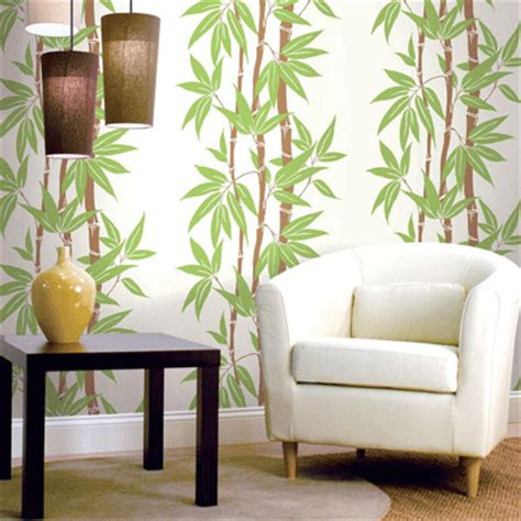 modern wallpapers with leaves beautiful eco style decor