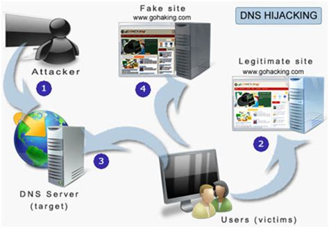 dns hijacking       works gohacking