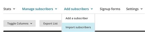 How To Import Wordpress Users To Mailchimp With Users Insights Users Insights Mailchimp Import Csv Template