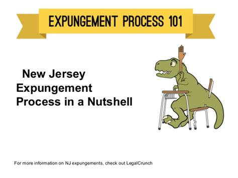 How To Get Criminal Record Expunged In Nj New Jersey Expungement Process