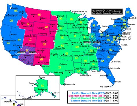 printable map of the united states time zones us time zones map printable