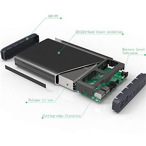 Notebook Power Bank maxoak 50000mah 6 port 5 12 20v portable charger external