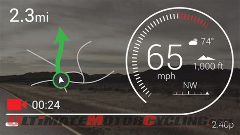 Motorradhelm Hud by Nuviz Ride Hud Up Display For Motorcycle Helmets